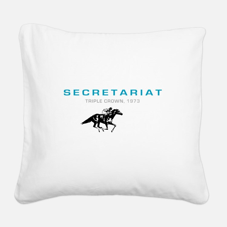 secetariat.png Square Canvas Pillow