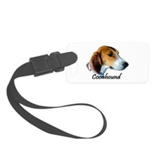 Coonhound I Luggage Tag