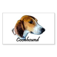 Coonhound I Decal