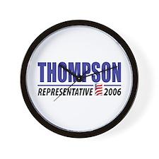 Thompson 2006 Wall Clock