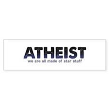 Atheist Star Stuff Bumper Sticker