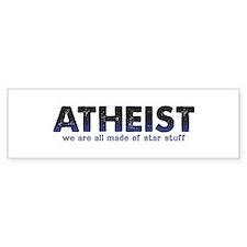 Atheist Star Stuff Bumper Sticker