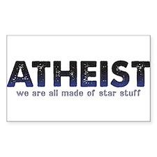 Atheist Star Stuff Decal