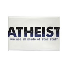 Atheist Star Stuff Rectangle Magnet