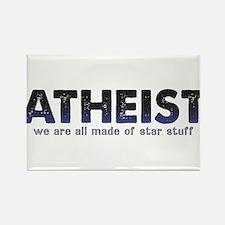 Atheist Star Stuff Rectangle Magnet