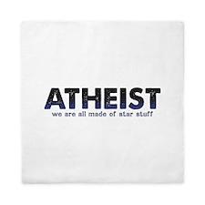 Atheist Star Stuff Queen Duvet