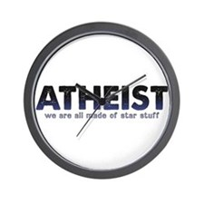Atheist Star Stuff Wall Clock