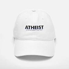 Atheist Star Stuff Baseball Baseball Cap
