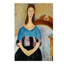 Modigliani - Jeanne Hebuterne Postcards (Package o