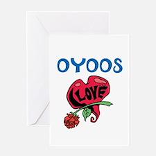 Oyoos Love design Greeting Card