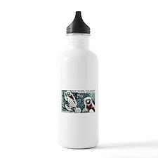 1961 Madagascar Lemur White Sifaka Stamp Water Bottle