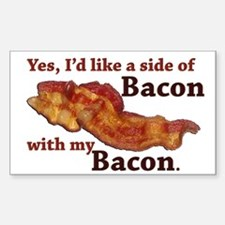 side of bacon Decal