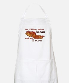 side of bacon Apron