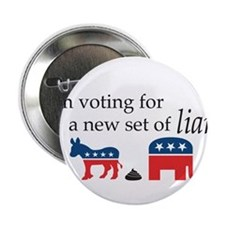 """New Set of Liars 2.25"""" Button"""
