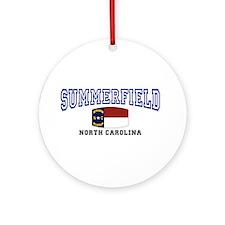 Summerfield, North Carolina NC USA Ornament (Round