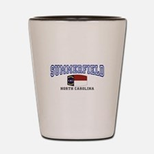 Summerfield, North Carolina NC USA Shot Glass