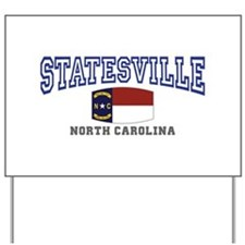 Statesville, North Carolina NC USA Yard Sign