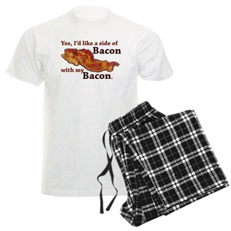 side of bacon Men's Light Pajamas