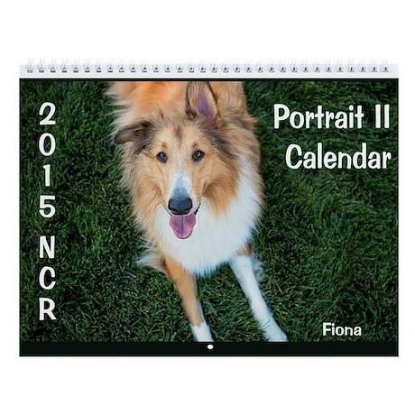 2015 Norcal Collie Rescue Portrait 2 Wall Calendar