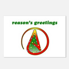Reasons Greetings Postcards (Package of 8)