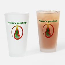 Reasons Greetings Drinking Glass