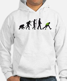 evolution fieldhockey player Hoodie
