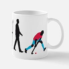 evolution fieldhockey player Mug