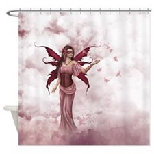 Butterfly Fairy 2 Shower Curtain