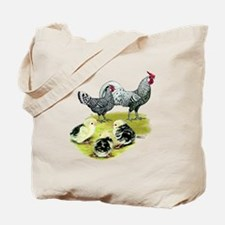Hamburg Fowl Family Tote Bag