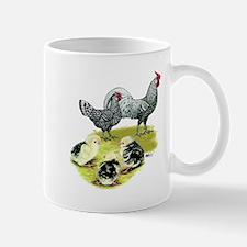 Hamburg Fowl Family Mug