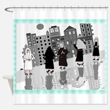 Catholic Nuns Shower Curtain