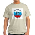 Russian Music on the Net (Rus Ash Grey T-Shirt