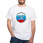 Russian Music on the Net (Rus White T-Shirt