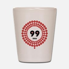 99 Red Balloons Shot Glass