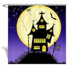 Spooky Halloween 1 Shower Curtain