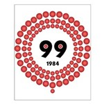 99 Red Balloons Small Poster