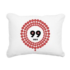 99 Red Balloons Rectangular Canvas Pillow