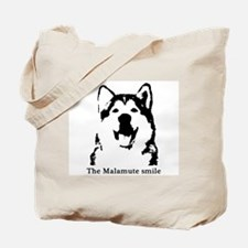 The Malamute Smile Tote Bag