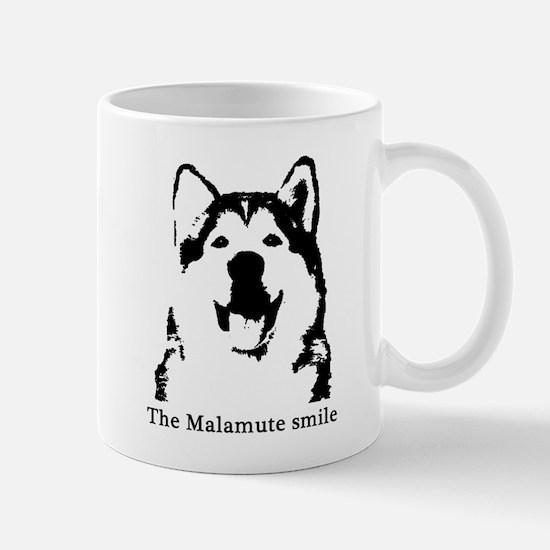 The Malamute Smile Mug