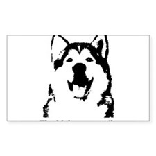 The Malamute Smile Decal