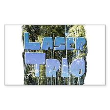 Front lawn at Esalen, Big Sur Return Address Label