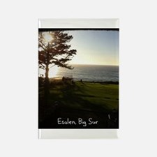 Front lawn at Esalen, Big Sur Rectangle Magnet