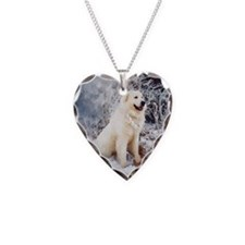 Great Pyrenees Necklace - Bois Neige