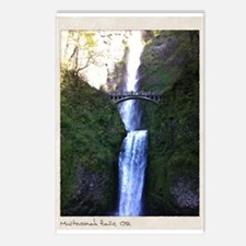 Multnomah falls, OR Postcards (Package of 8)