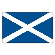 Scotland Flag, Scottish Flag Rectangle Decal