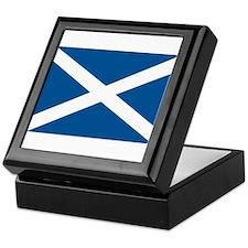 Scotland Flag, Scottish Flag Keepsake Box