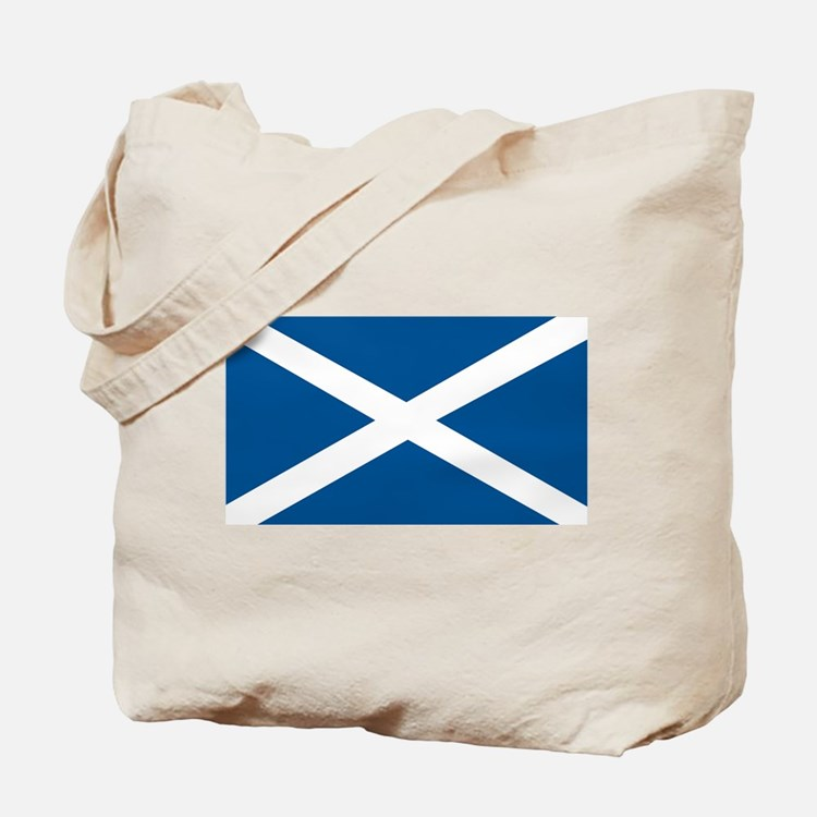 Scotland Flag, Scottish Flag Tote Bag