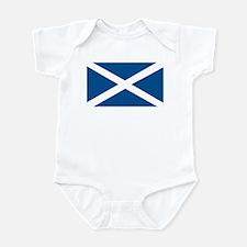 Scotland Flag, Scottish Flag Infant Creeper