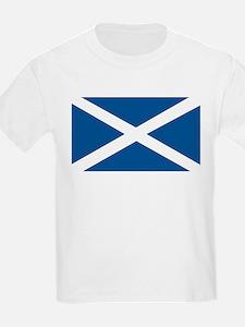 Scotland Flag, Scottish Flag Kids T-Shirt