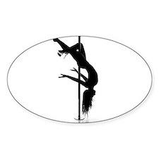 pole dancer 3 Stickers